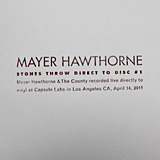 Mayer Hawthorne: Direct-To-Disc #1